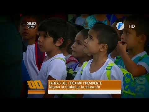 Principales tareas del siguiente Presidente de la República.