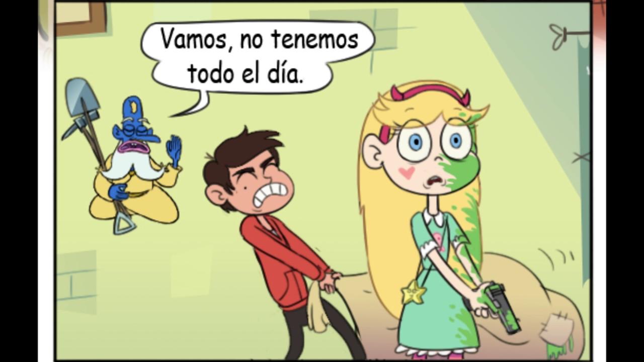 Star Contra Las Fuerzas Del Mal Dibujos: Star Vs Las Fuerzas Del Mal Mini Comics En Español