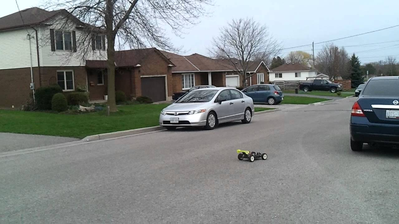 My Rc 1 8 Buggy Wheelie Youtube