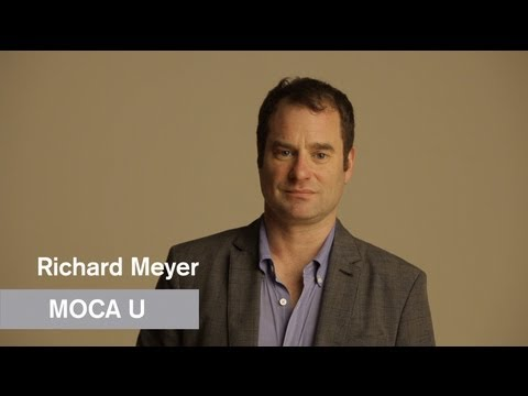 Richard Meyer - What Was Contemporary Art? - MOCAU - MOCAtv