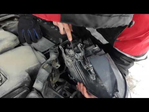 Замена фар на форд фокус 2