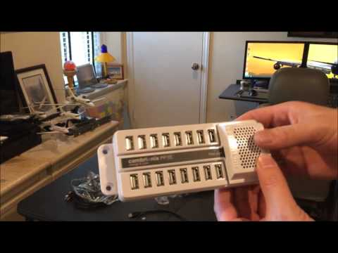 Home Cockpit - Unboxing Cambrionix 15 Port Powered USB Hub