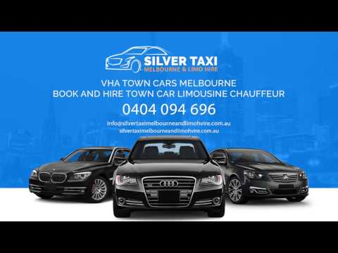 silver taxi melbourne and limo hire