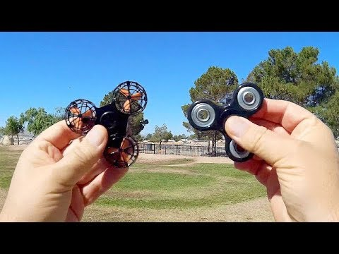 F1 Fidget Spinner Drone Flight Test Review