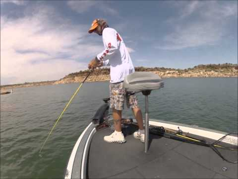 Conchas lake new mexico bass fishing youtube for Fishing new mexico