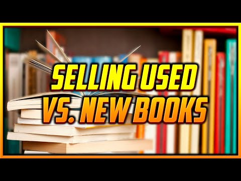 How to Tell How Many Used Books are Selling vs. How Many New Books are Selling on a Listing