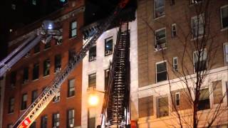 """FDNY ON SCENE OF """"ALL HANDS"""" FIRE IN DUCT WORK AT MCDONALD'S ON W. 44TH ST. IN MIDTOWN, MANHATTAN."""