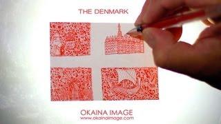 """The Denmark"" drawing by Daisuke Okamoto"