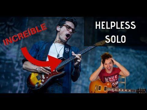 Espectacular SOLO De John Mayer - Como Tocar El Solo De HELPLESS - Tutorial