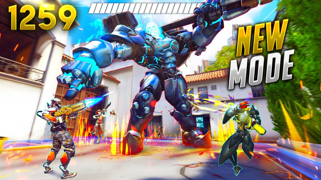 BOSS FIGHT Mode IS SICK! | Overwatch Daily Moments Ep.1259 (Funny and Random Moments)