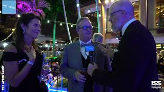Speed Dating at the ISS Gala 2018 After Party with John Allen and Katie Ross of Quantum Stabilizers