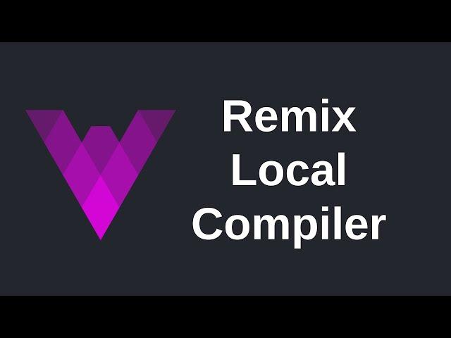 How to Setup Remix Local Compiler | Vyper