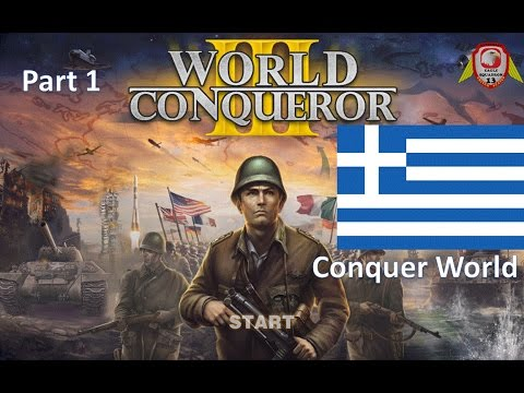 World Conqueror 3 Conquest World Greece 1939 Time-lapse [HD]