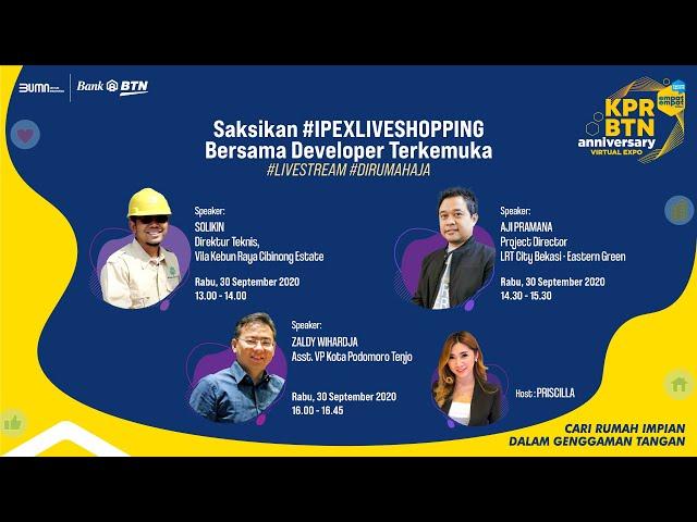 IPEX #LIVESHOPPING - CARA CARI HUNIAN YANG AMAN DAN NYAMAN