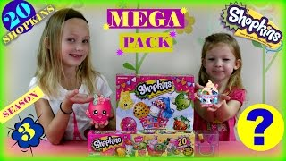 Shopkins Season 3 Mega Pack * Shopkins Supermarket Scramble Game