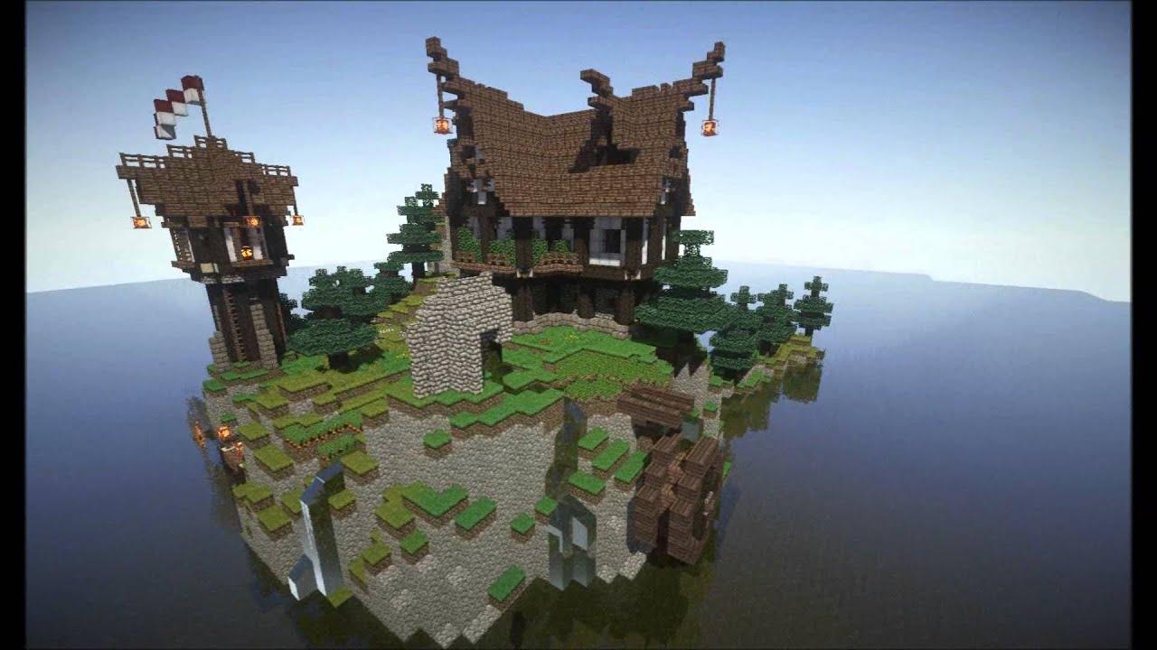 RicSops Nordmeerinsel YouTube - Minecraft wikinger hauser