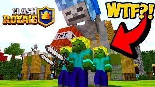 Clash Royale v Minecraftu! Nejlepší Minecraft mod vůbec? Zahrajte si ho i vy!