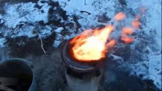 Получение чистого олова из припоя