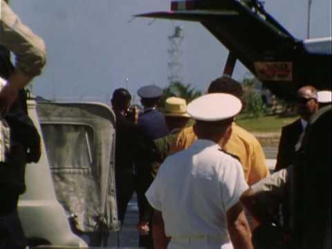 PRESIDENT NIXON'S VISIT, JOHNSTON ISLAND, July 23-24, 1969