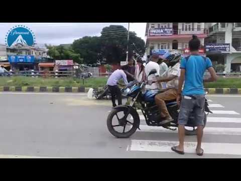 EXCLUSIVE: Live accident in Bhaktapur