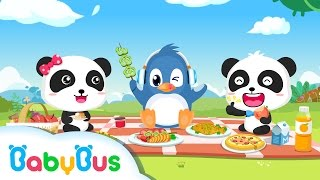 Healthy Eater Animation For Babies Babybus Baby Panda