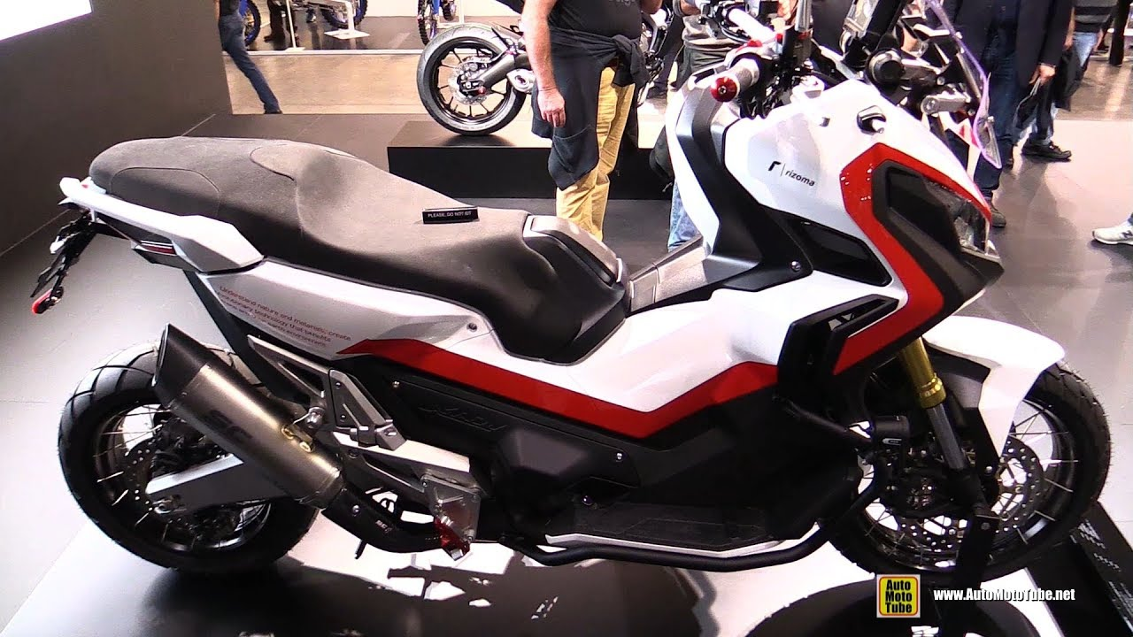 2018 Honda X Adv Rizoma Customized Walkaround 2017 Eicma Milan