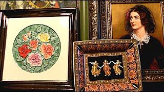 ФАРФОРОВЫЕ Картины Лоток Коллекция