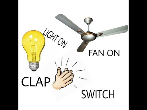 how does a clap switch work