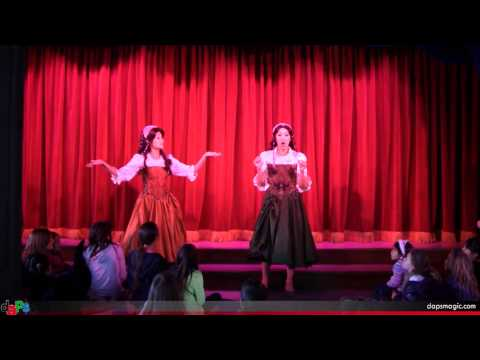 Village Maidens Pre-Show for the Tale of Belle - Fantasy Faire - Disneyland