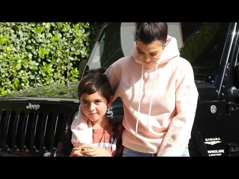 Kourtney Kardashian And Son Mason Closer Than Ever