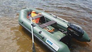 видео Надувная лодка Аква 2800