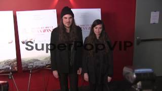 Brian Oblivion and Madeline Follin at A Glimpse Inside th...
