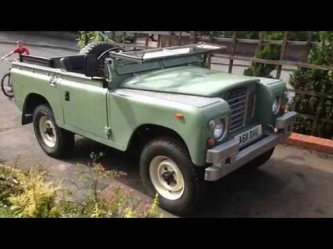 2.5 defender petrol engine-series 3 land rover restored rebuild