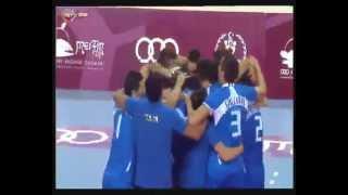 29-06-2013: L'Italia maschile vince i Giochi del Mediterraneo 2013. L'ultimo punto