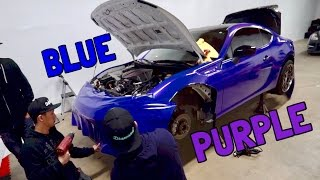 BRZ WRAP REVEAL! RBV3 gets a new color!