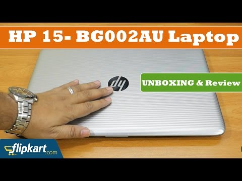 HP 15- BG002AU Laptop | Unboxing and Review | 2017