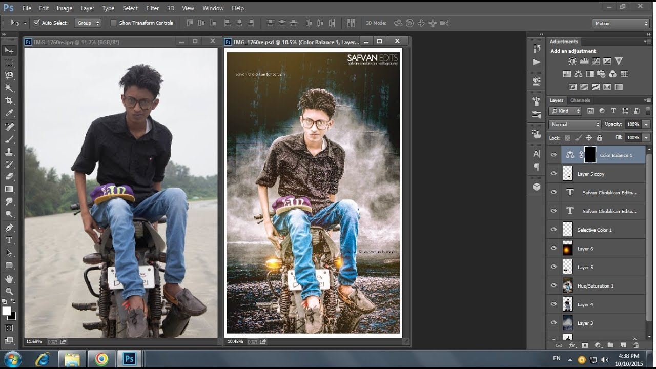 PHOTOSHOP PHOTO EDITING | BACKGROUND CHANGING | SIMPLE ...