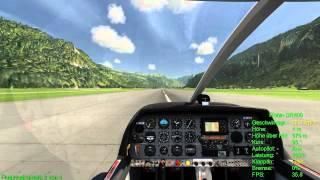 Aerofly FS Crash mit Robin DR400