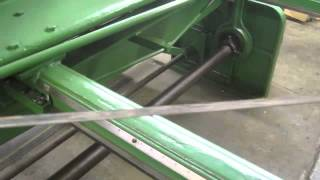 12471 Wysong 6' x 14 gauge shear