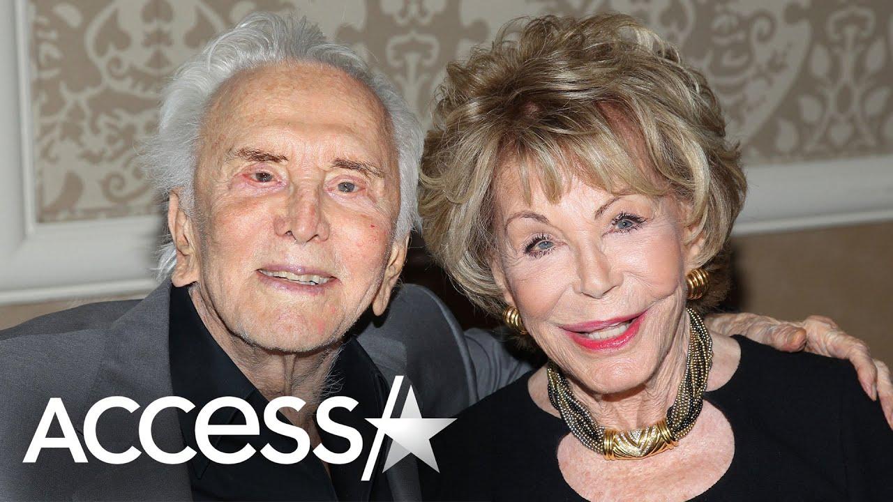 Kirk Douglas' widow Anne Douglas dies aged 102