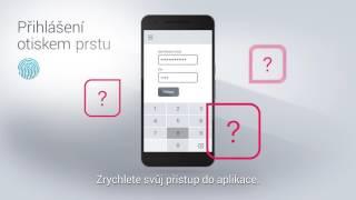 Vymáčkněte ze smartbankingu maximum - přihlášení otiskem prstu
