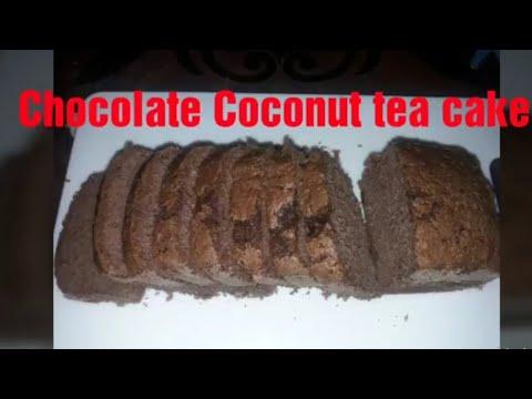Choclate Coconut Tea Cake/chocolate Cake/tea Cake Recipe By Mrym's Kitchen