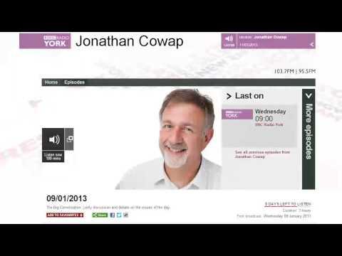 Godfrey Bloom on BBC Radio York. 09/01/13