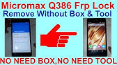Micromax Q413 Frp Lock Bypass Without PC - YouTube