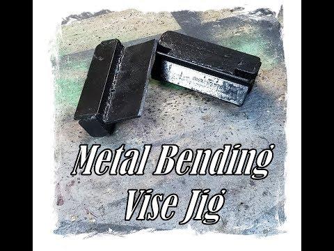 Metal Bending Vise Jig