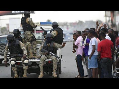 Haïti sous tension