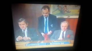 FA Cup Draw 1992