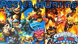 Skylanders Trap Team Hunting - New Characters Spotted In Posters (part 1)