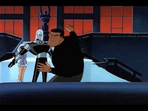 Bruce,Tim,and batgirl vs. Mr.Freeze