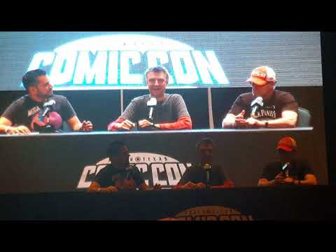 Sean Gunn and Micheal Rooker Panel Part 1